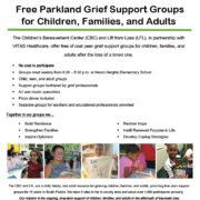 Parkland Participant Flyer